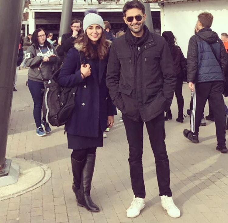 Nimra Khan & Affan Waheed In London
