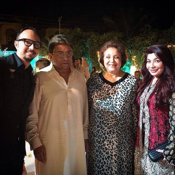 Nomi Ansari With Gen Pervez Musharraf
