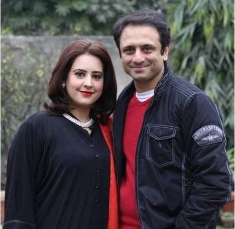 Pakistani Actor Ali Tahir With His Wife Wajiha Tahir