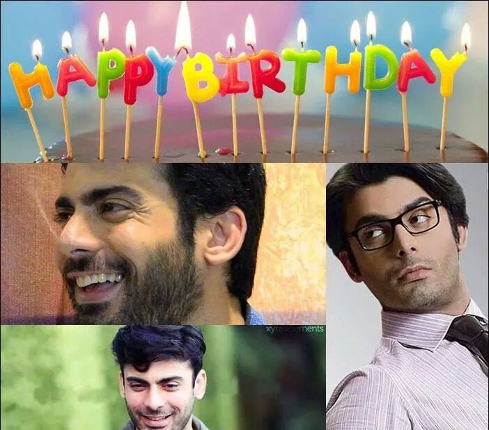 Pakistani Actor Fawad Afzal Khan Birthday 29 Nov