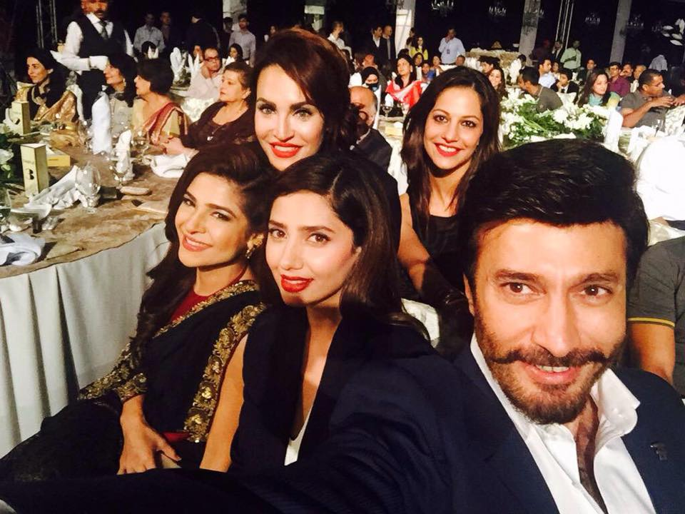 Pakistani Celebs at The Launch of PSL in Lahore