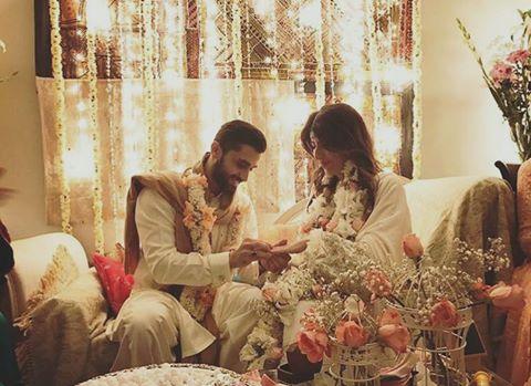 Palwasha Yousuf & Mustafa Jamshed Got Engaged