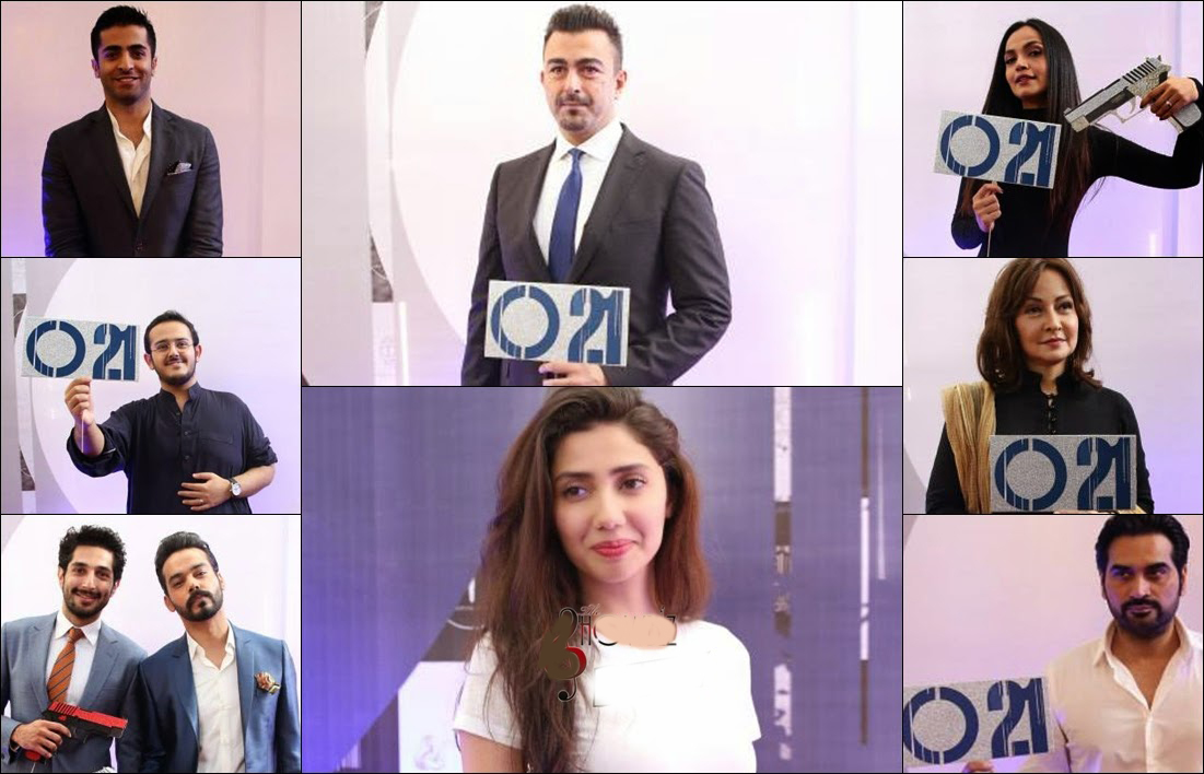 Press Conference Of  Pakistan's First Spy Action Thriller Movie O21