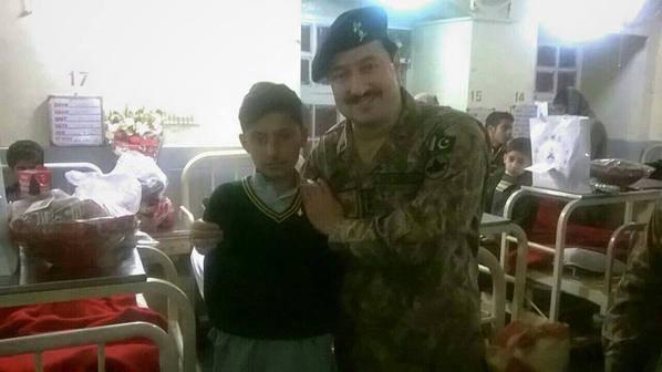 Qasim Shah Of Drama Alpha Bravo Charlie With Peshawar School Attack Kids