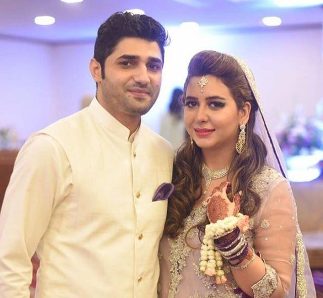 Rabia Anam With Her Husband