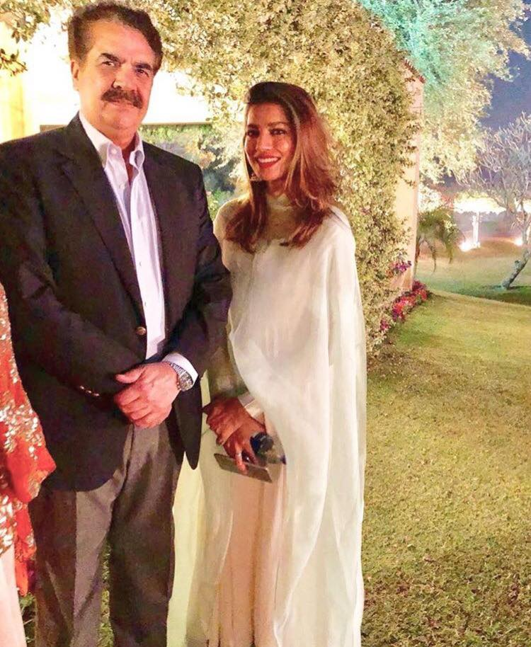 Rabia Butt With General Raheel Shareef