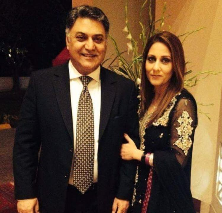 Recent Click Of Mr & Mrs Asif Raza Mir