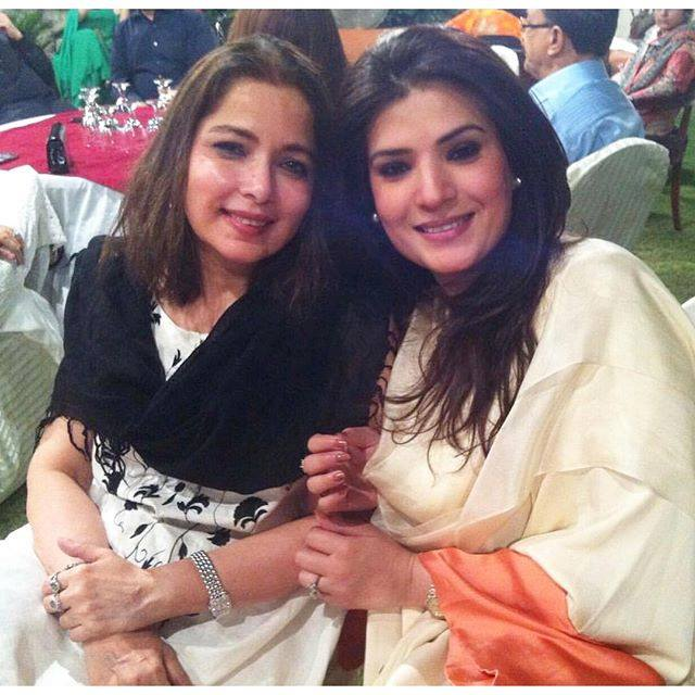 Recent Click of Lollywood Divas Babra Shareef and Resham