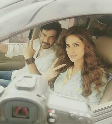 Recent click ‪Of Saba Qamar‬ With ‪‎Zahid Ahmed‬