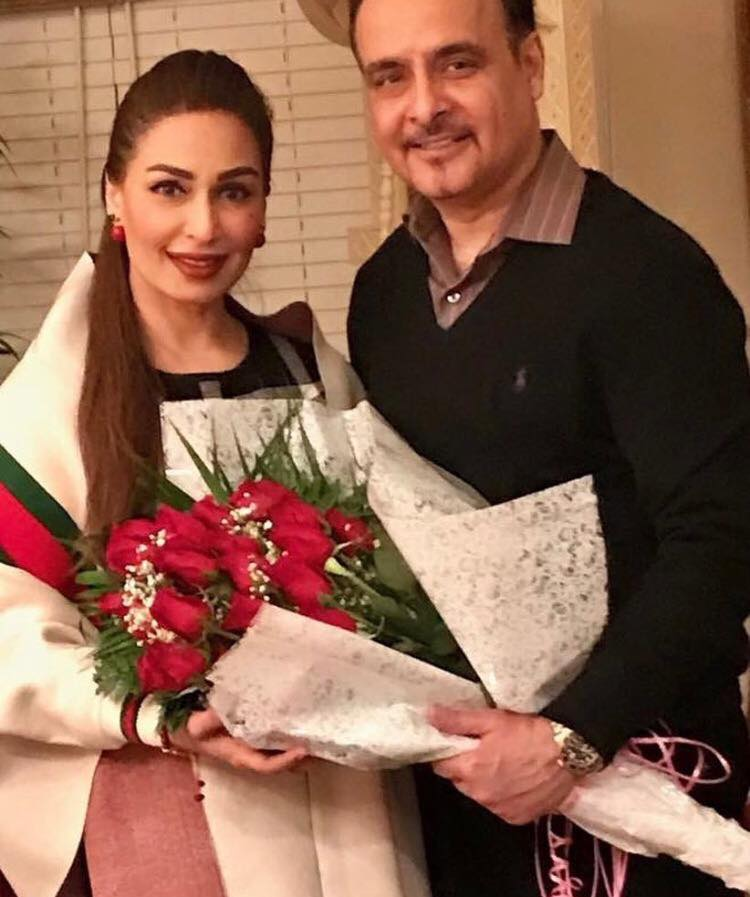 Reema Khan With Her Husband