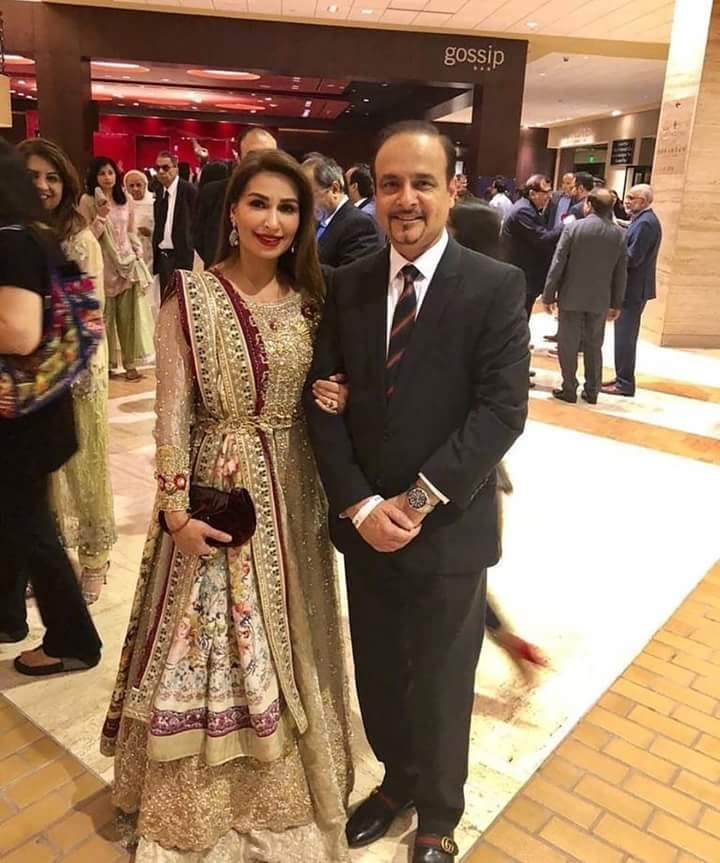 Reema Khan With Her Husband At A Recent Event