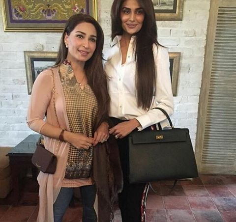 Reema Khan With Mehreen Syed