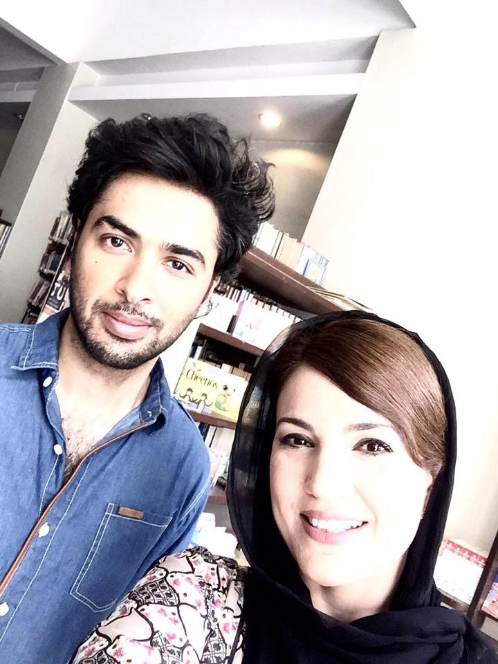 Reham Khan Selfie with Shahzad Roy