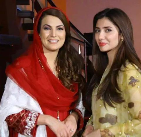 Reham Khan With Mahira Khan