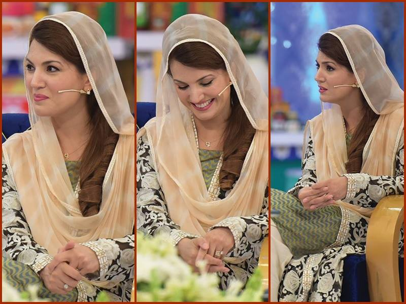 Reham khan In Shan-e-Ramzan Transmission