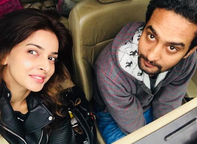 Saba Qamar With Her Brother Raheem