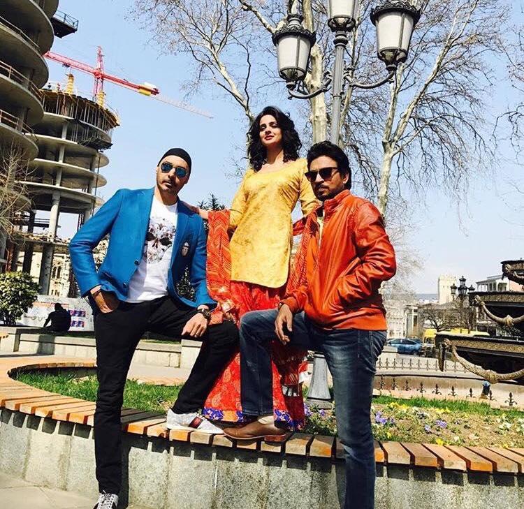 Saba Qamar With Irfan Khan & Sukhbir Singh