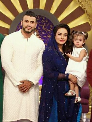 Sadia Imam‬ With Her Husband & Daughter ‪‎Meerab‬
