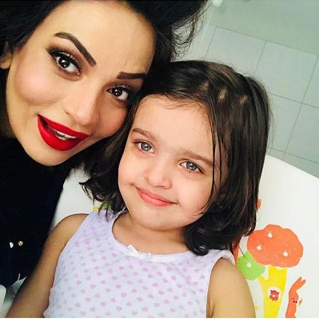 Sadia Imam & Her Beautiful Daughter