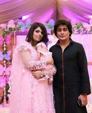 Sahir Lodhi‬ With His Wife & ‪‎Daughter‬
