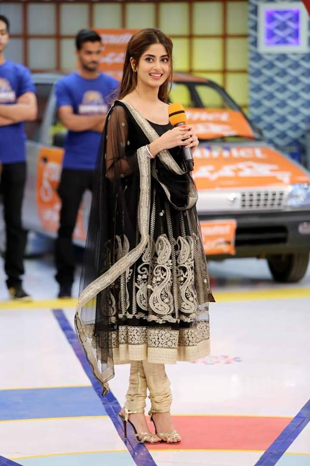 Sajal Ali in Jeeto Pakistan