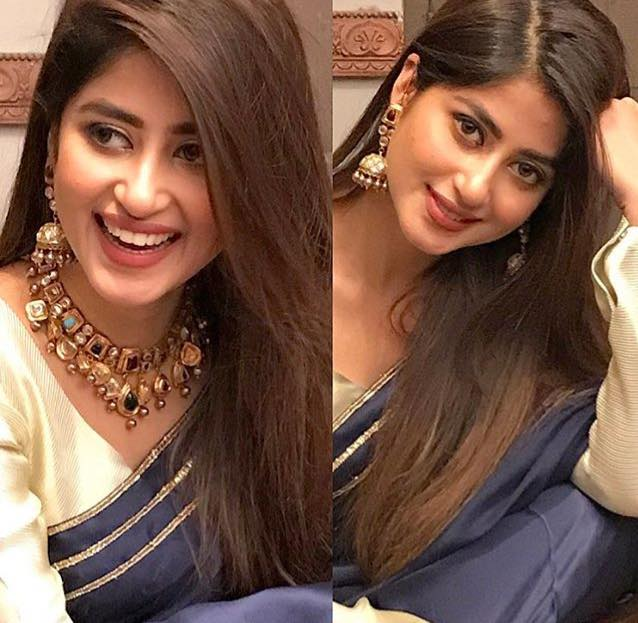 Sajal Aly Looking Stunning In Sari