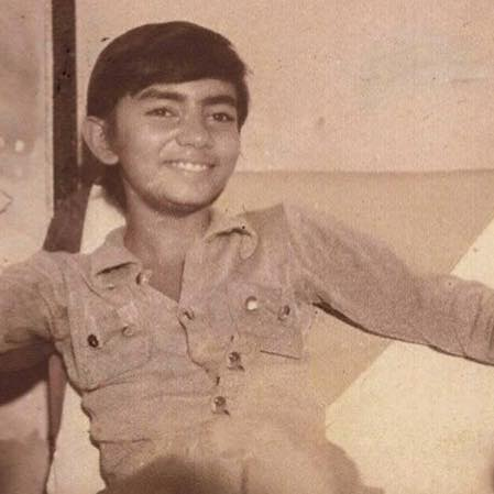 Sajjad Ali Childhood Photo