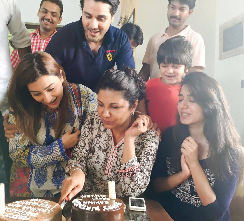 Sakina Samo Celebrated Her Birthday