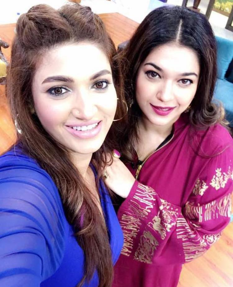 Sana Fakhar And Sanam Jung