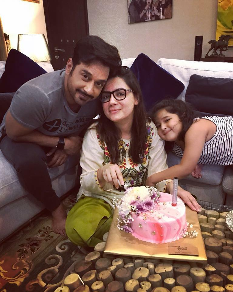 Sana Faysal Celebrating Her Birthday With Family