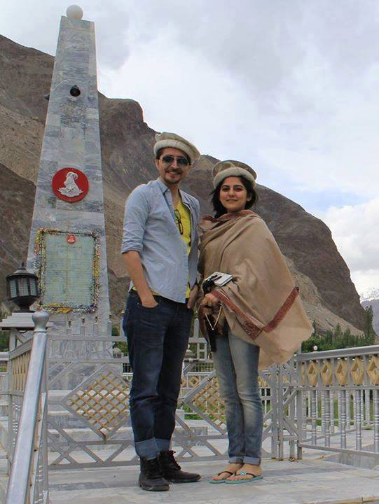 Sanam Baloch And Abdullah Khan
