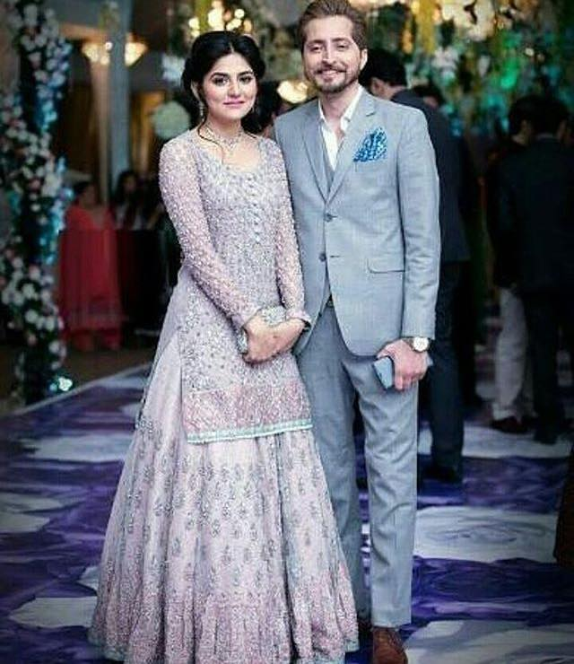 Sanam Baloch With Her Hubby