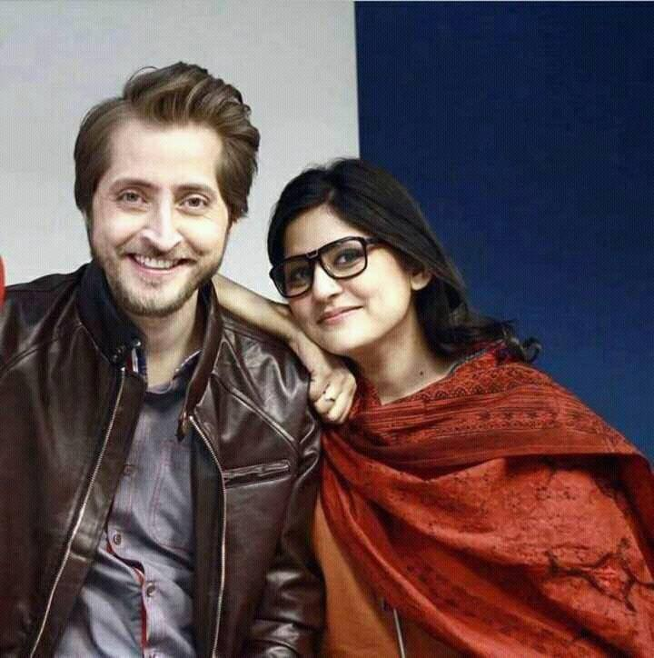 Sanam Baloch With Her Husband