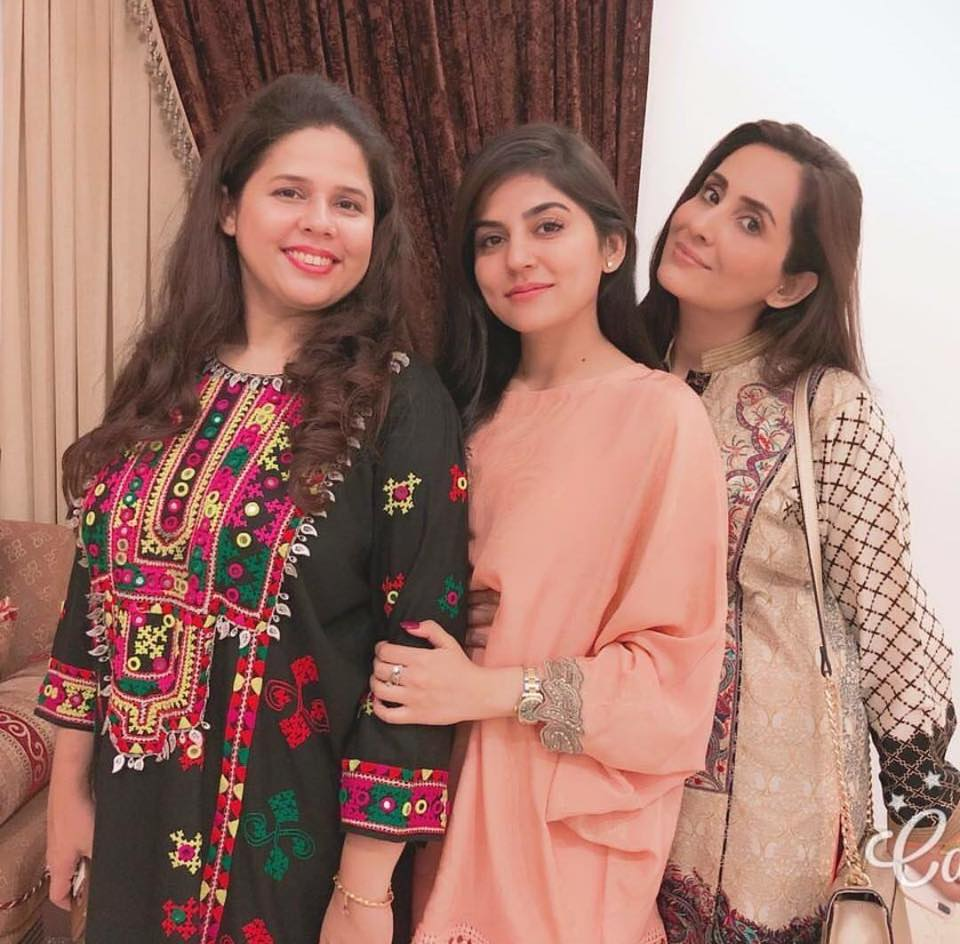 Sanam Baloch With Her Sisters
