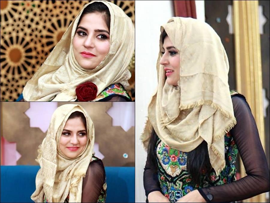 Sanam Baloch in Hijab