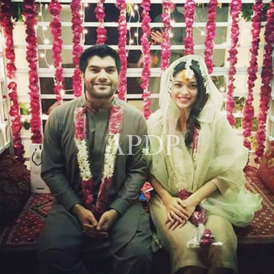 Sanam Jung Beautiful Mehndi and Mayun Ceremony Picture