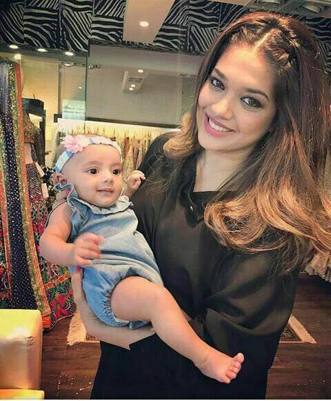 Sanam Jung With Her Daughter Alaya