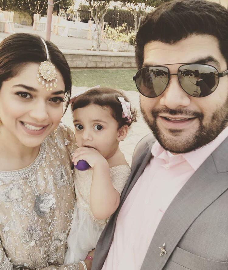 Sanam Jung With Husband & Daughter - Arts & Entertainment Images