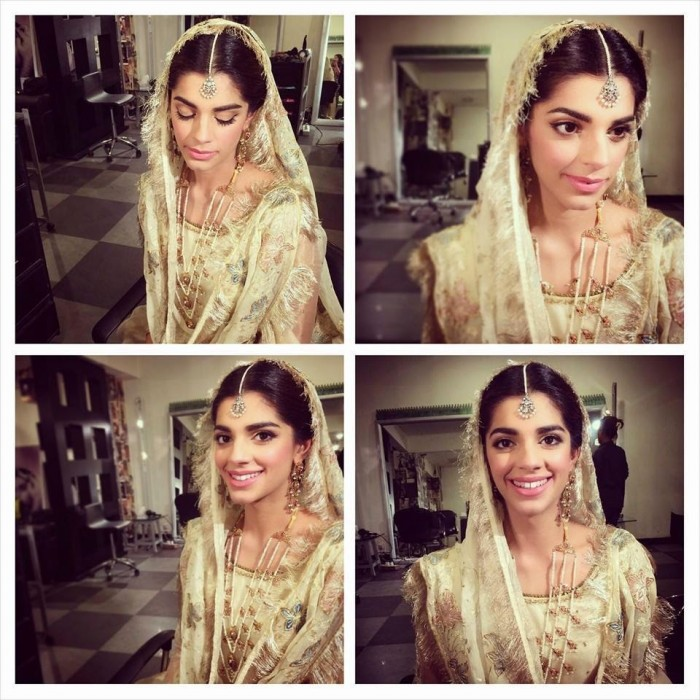 Sanam Saeed Wedding Look Exclusive Picture