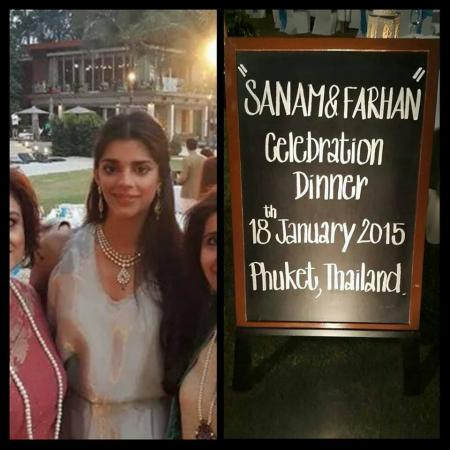 Sanam Saeed With Her Husband In Thailand