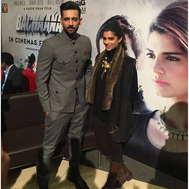 Sanam saeed and Muhib Mirza at the Music launch of their Upcoming Film