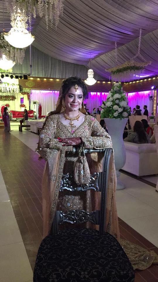 Sara Razi Khan On Her Valima