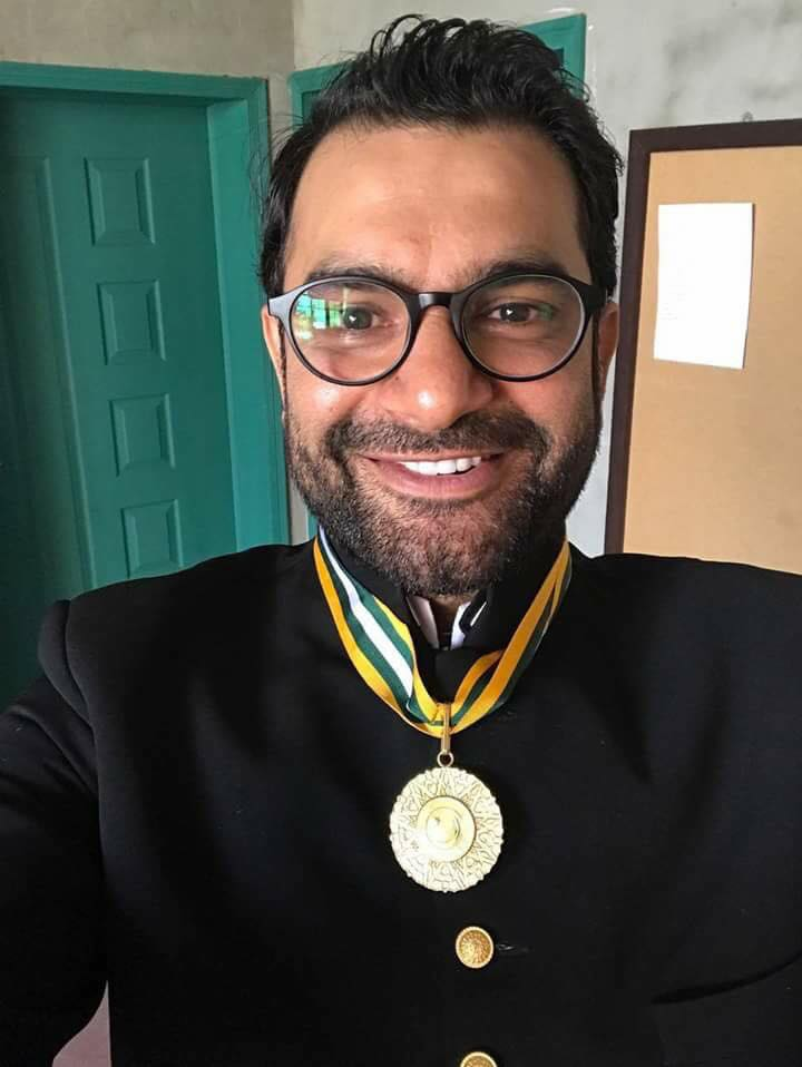 Sarmad Khoosat Honoured With Pride Of Performance Award