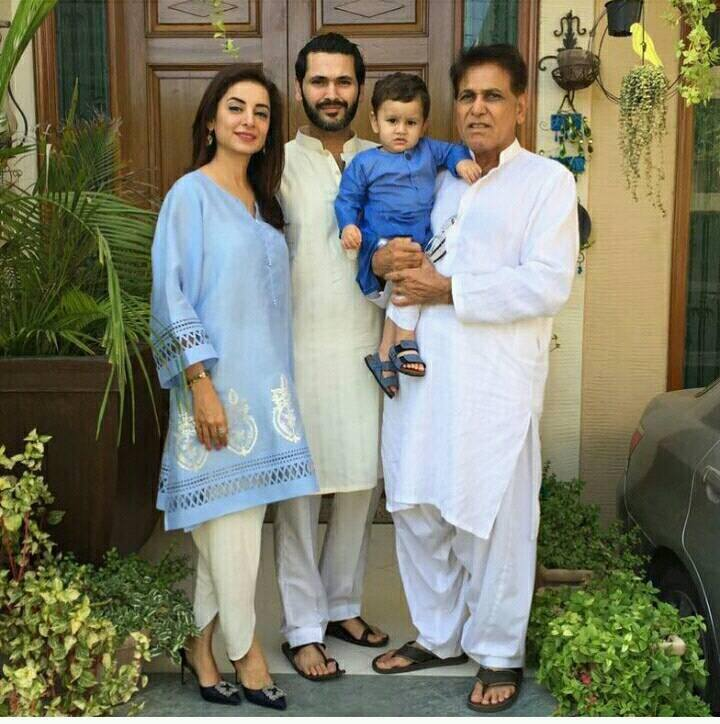 Sarwat Gilani With Her Family
