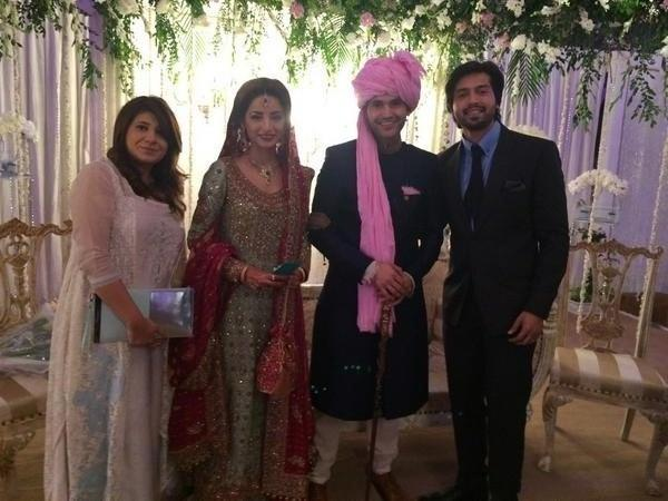 Sarwat Gilani and Fahad Mirza Wedding Picture