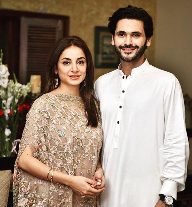 Sarwat Gillani With Her Hubby Fahad Mirza