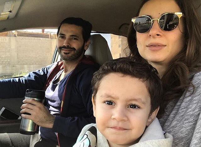 Sarwat Gillani With Her Husband & Son
