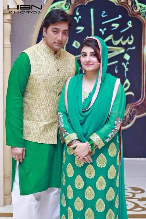 Saud And Javeria In Ramzan Transmission On Express Entertainment