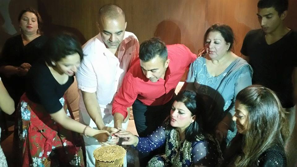 Shaan Shahid Celebrated His Birthday With Family