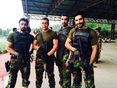 Shaan Shahid Pic From Shoot Upcoming Movie Yalgaar